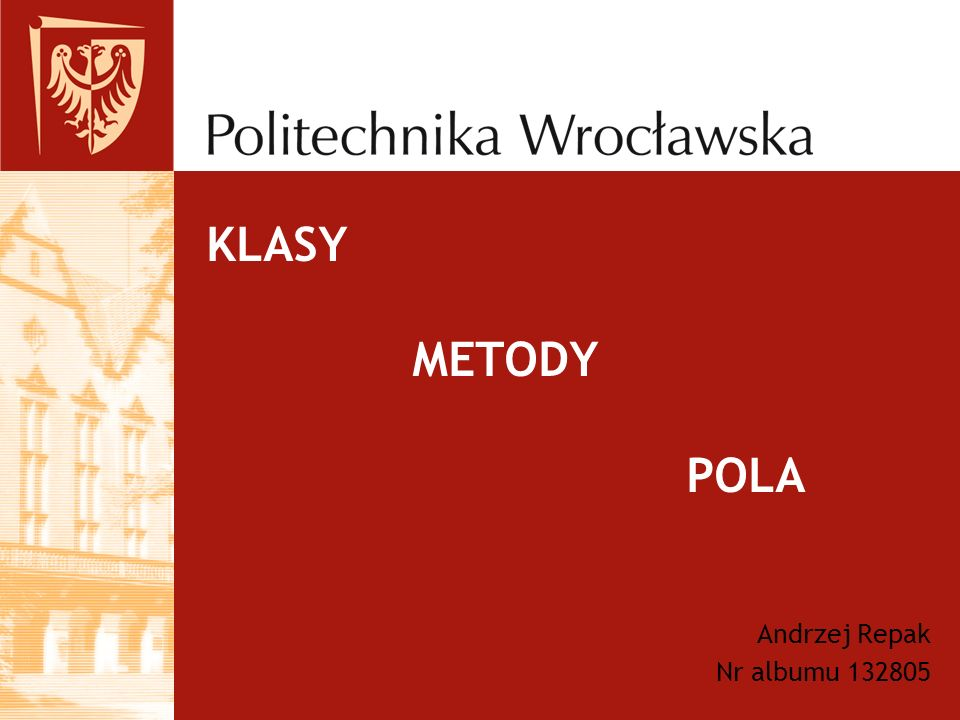 Andrzej Repak Nr albumu 132805