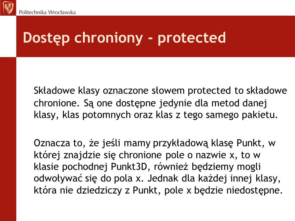Dostęp chroniony - protected