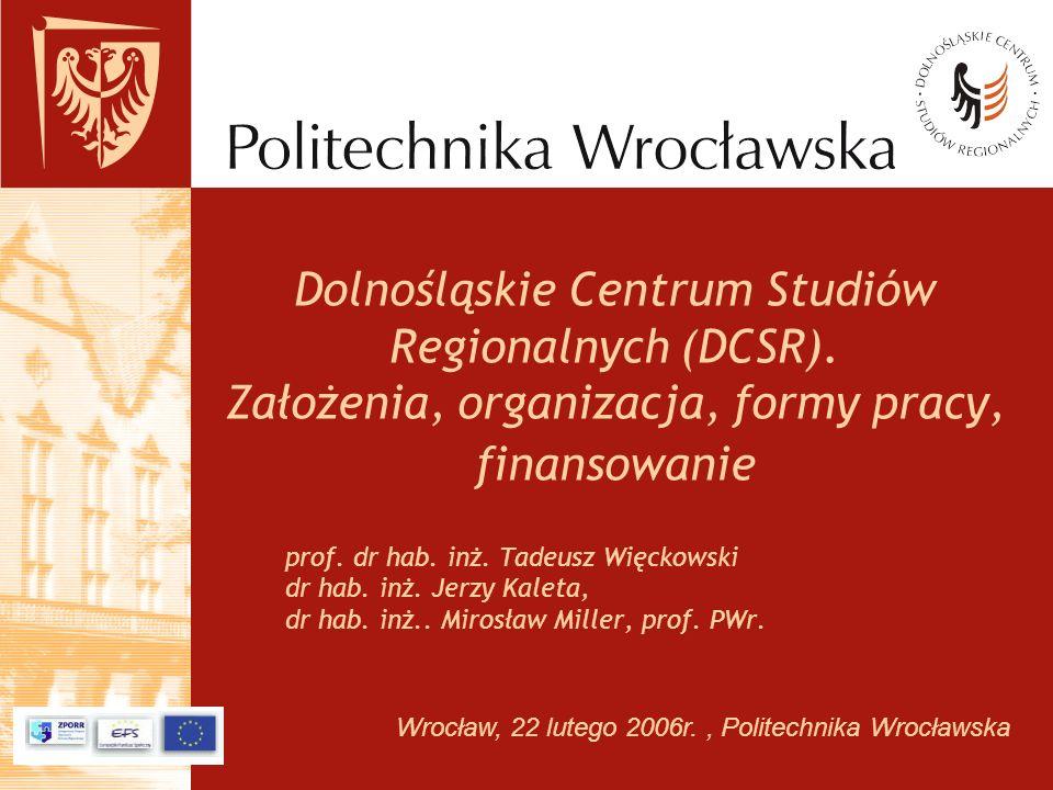 Dolnośląskie Centrum Studiów Regionalnych (DCSR)