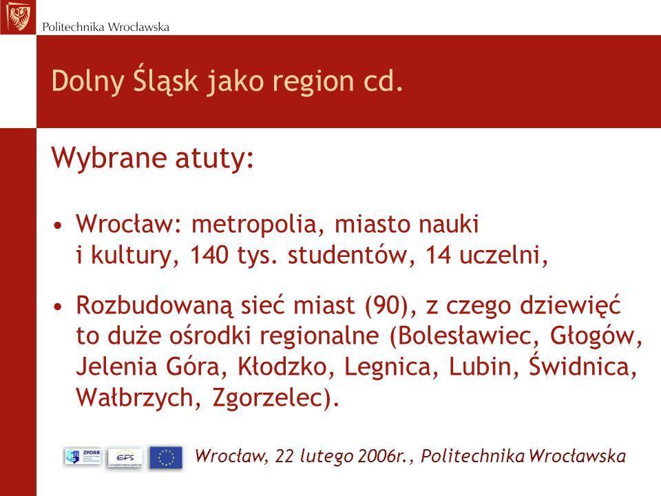 Dolny Śląsk jako region cd.