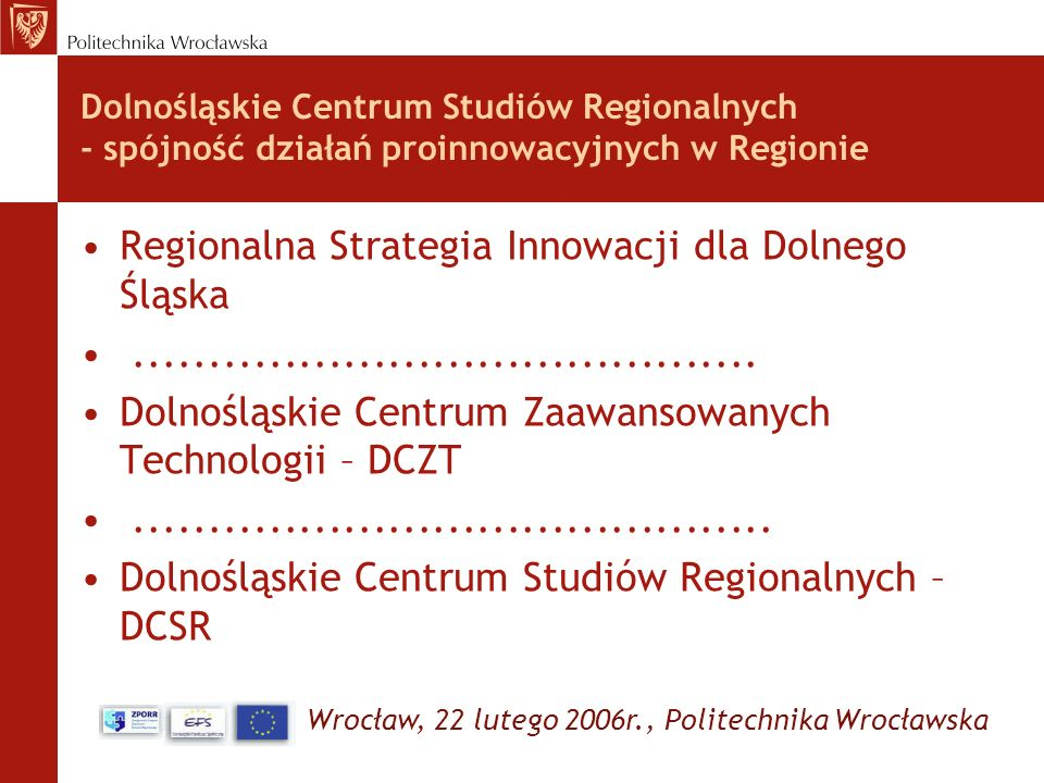 Regionalna Strategia Innowacji dla Dolnego Śląska