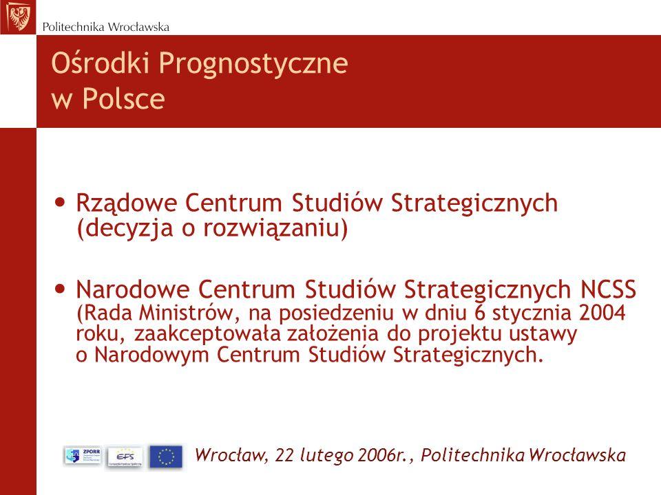 Ośrodki Prognostyczne w Polsce