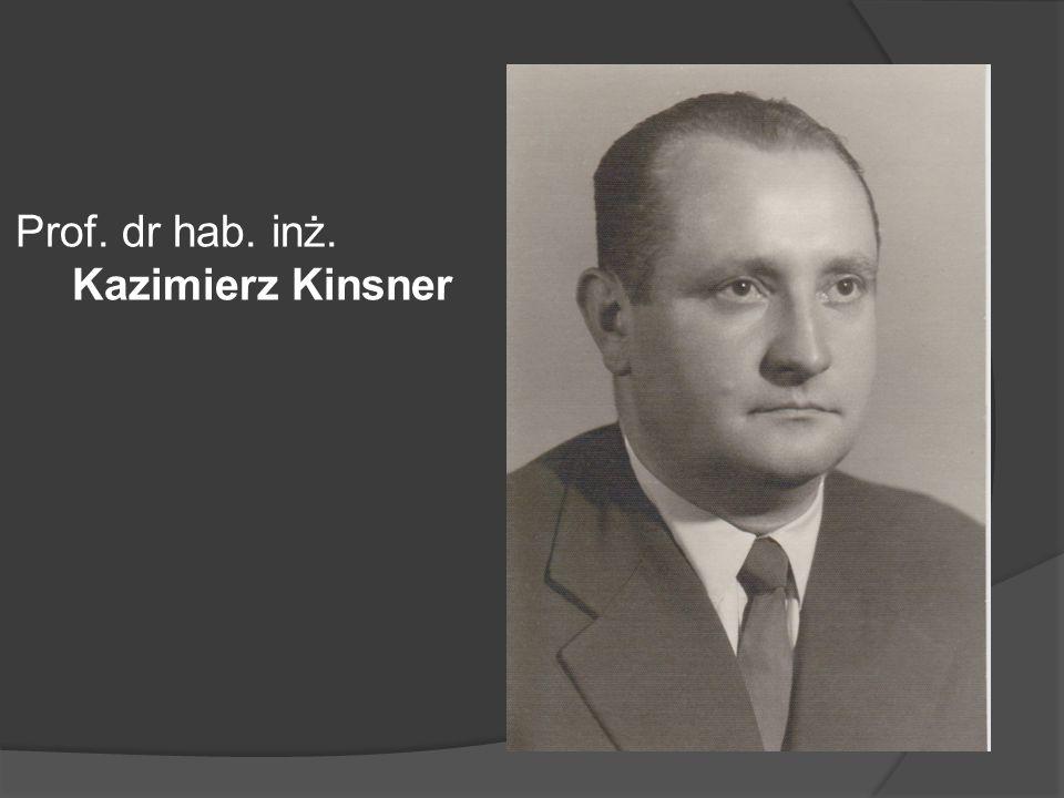 Prof. dr hab. inż. Kazimierz Kinsner