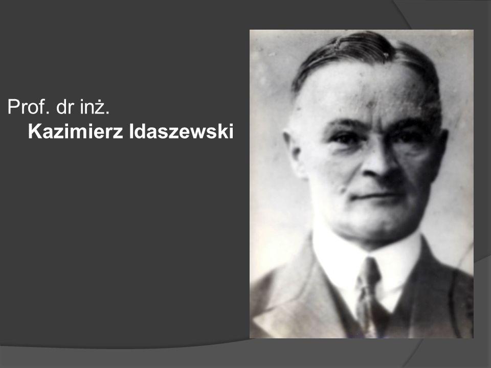 Prof. dr inż. Kazimierz Idaszewski