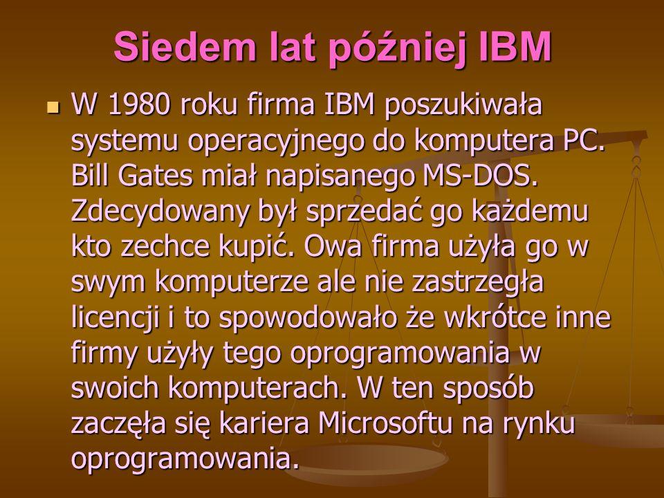 Siedem lat później IBM