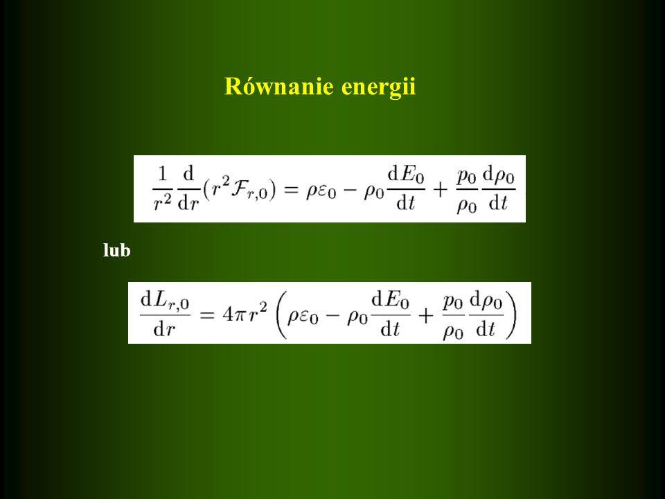 Równanie energii lub