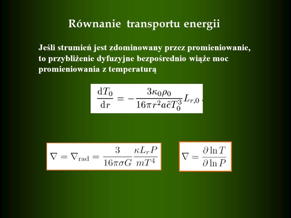 Równanie transportu energii
