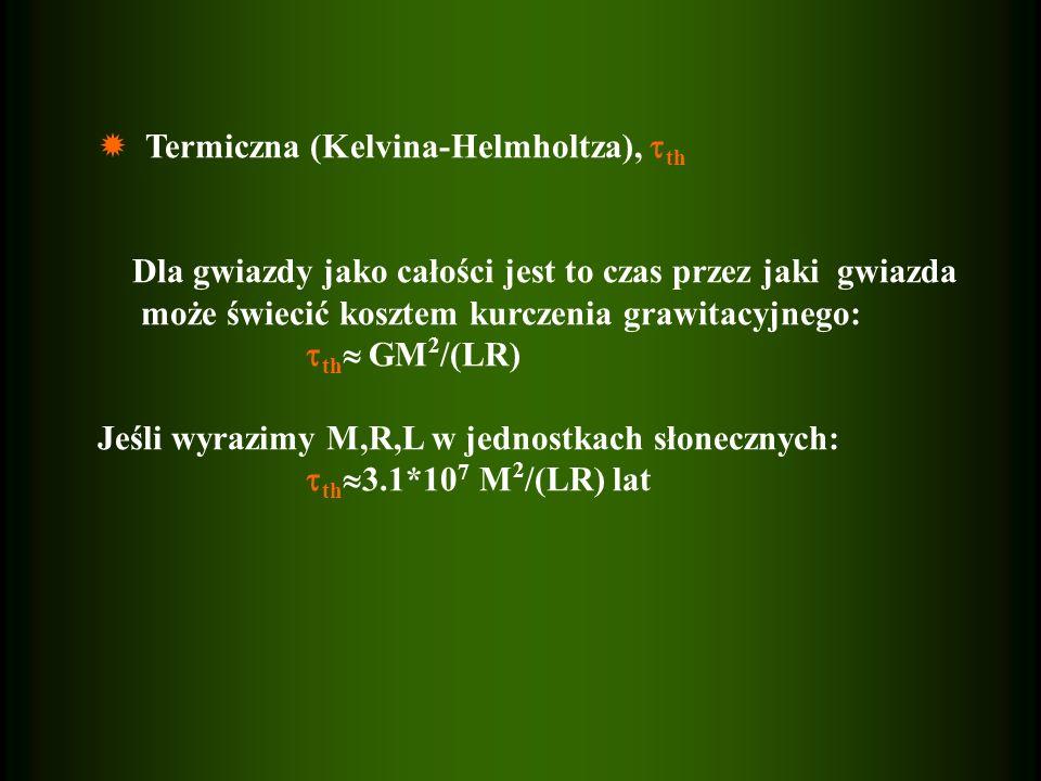  Termiczna (Kelvina-Helmholtza), th