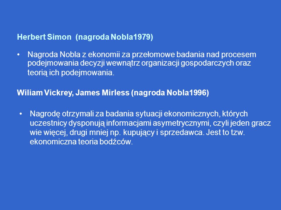 Herbert Simon (nagroda Nobla1979)