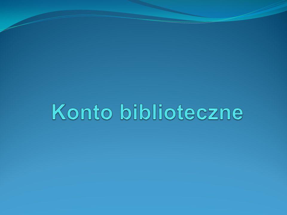 Konto biblioteczne