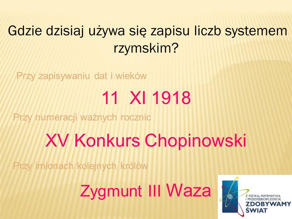 XV Konkurs Chopinowski