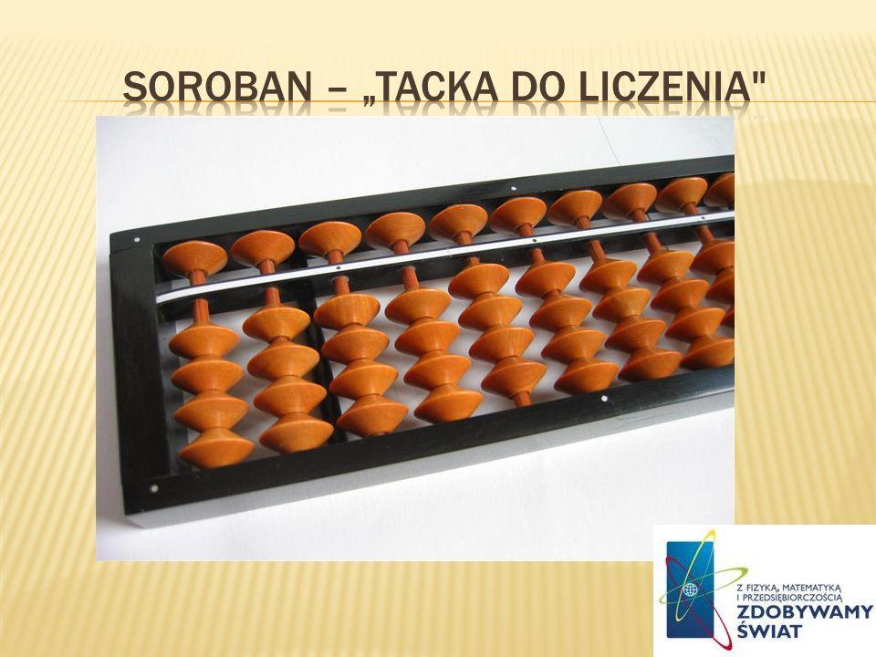 "SOROBAN – ""TACKA DO LICZENIA"