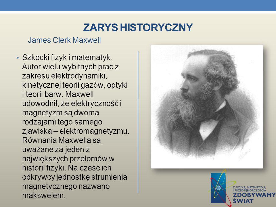 Zarys historyczny James Clerk Maxwell