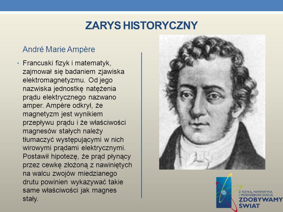 Zarys historyczny André Marie Ampère
