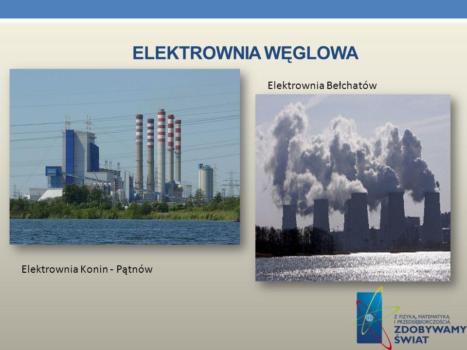 Elektrownia węglowa Elektrownia Bełchatów Elektrownia Konin - Pątnów