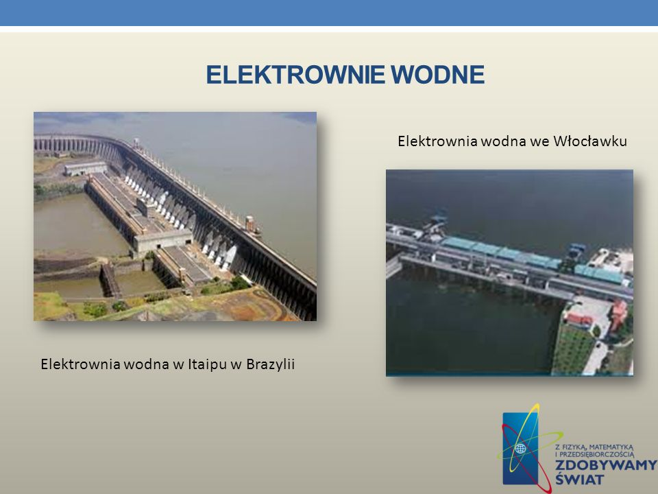 Elektrownie wodne Elektrownia wodna we Włocławku