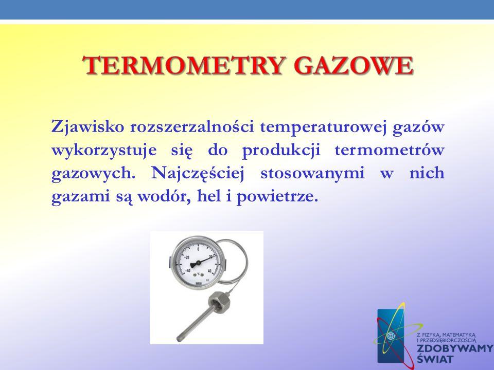 TERMOMETRY GAZOWE