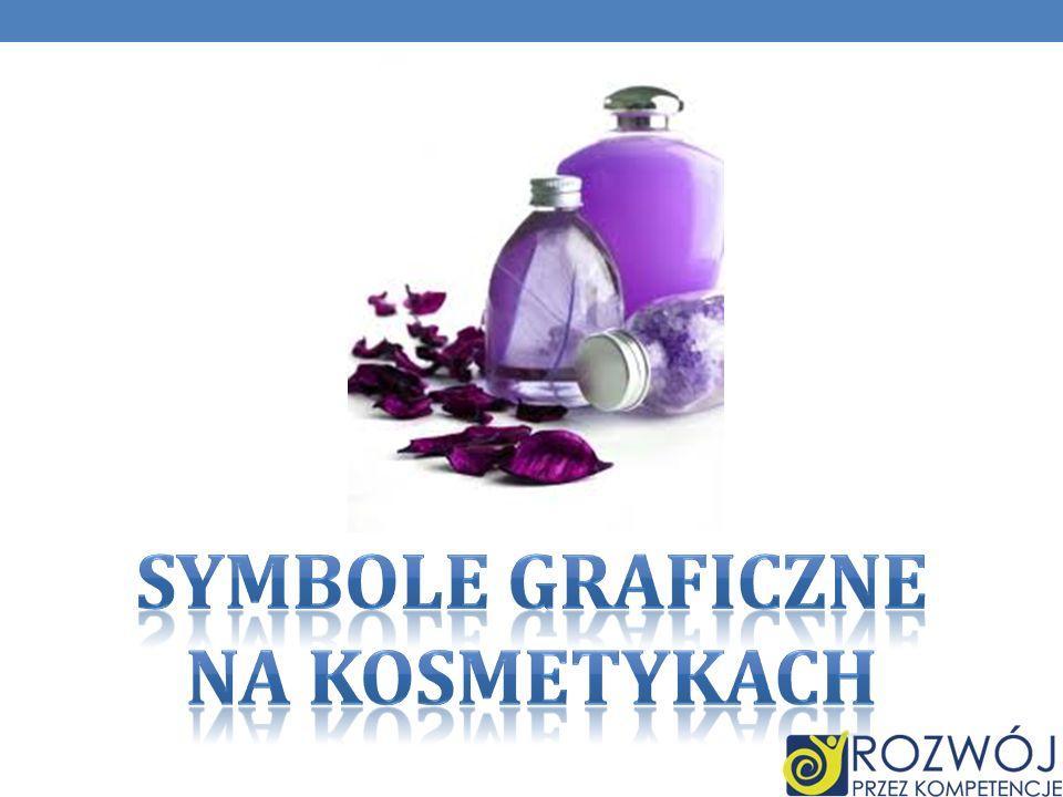 SYMBOLE GRAFICZNE na kosmetykach