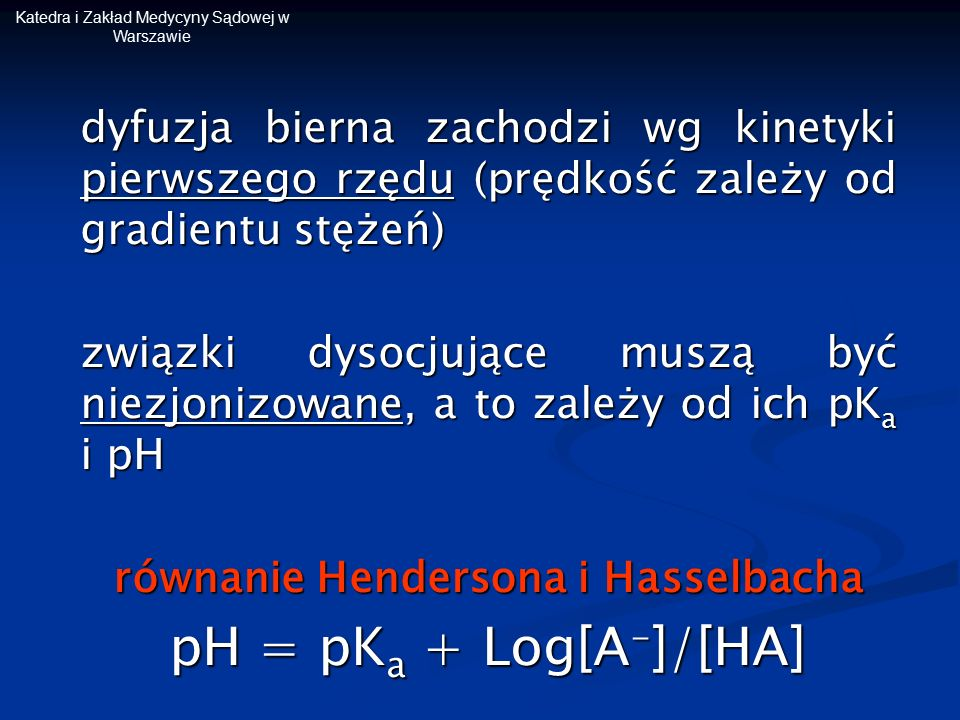 równanie Hendersona i Hasselbacha