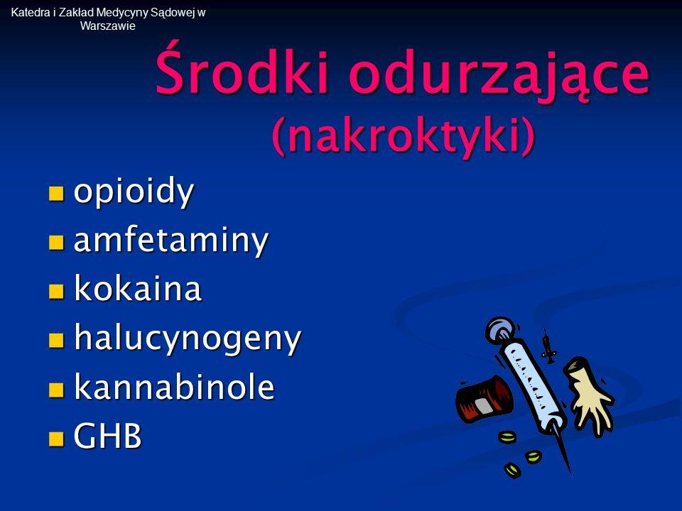 Środki odurzające (nakroktyki)