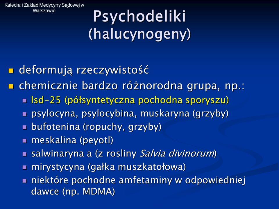 Psychodeliki (halucynogeny)