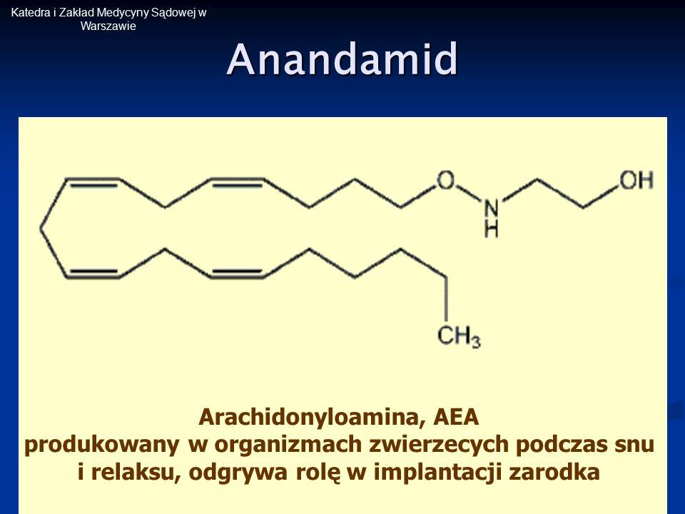 Arachidonyloamina, AEA