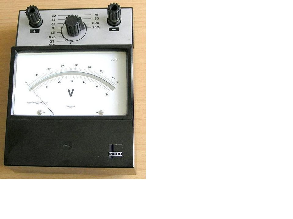 Woltomierz jest to przyrząd pomiarowy za pomocą którego mierzy się napięcie elektryczne (jednostka napięcia wolt).