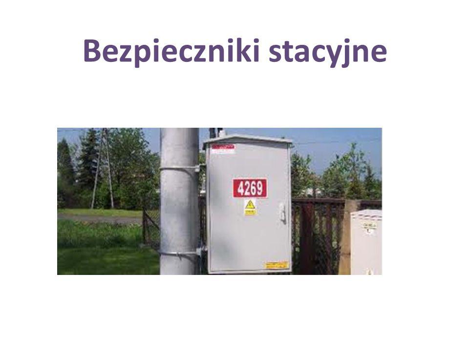 Bezpieczniki stacyjne