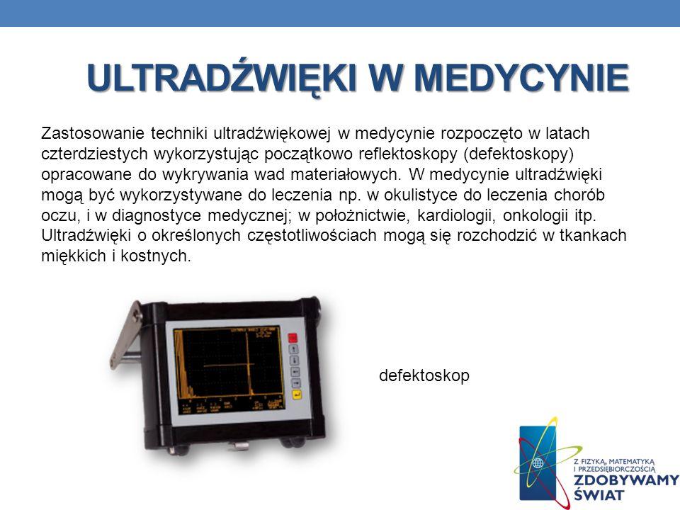Ultradźwięki w medycynie