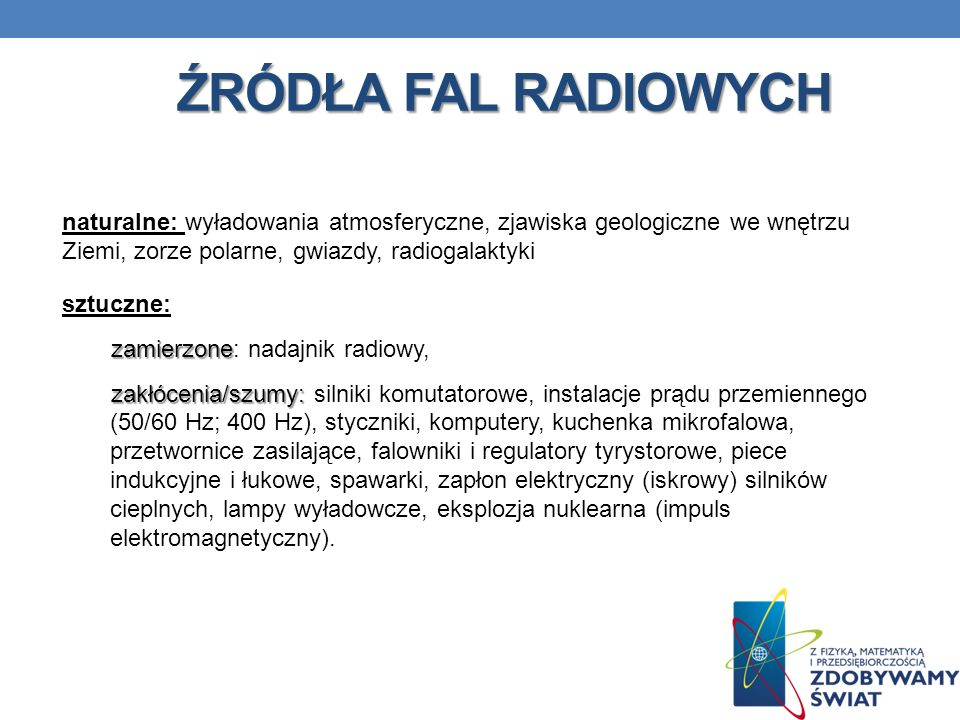 Źródła fal radiowych