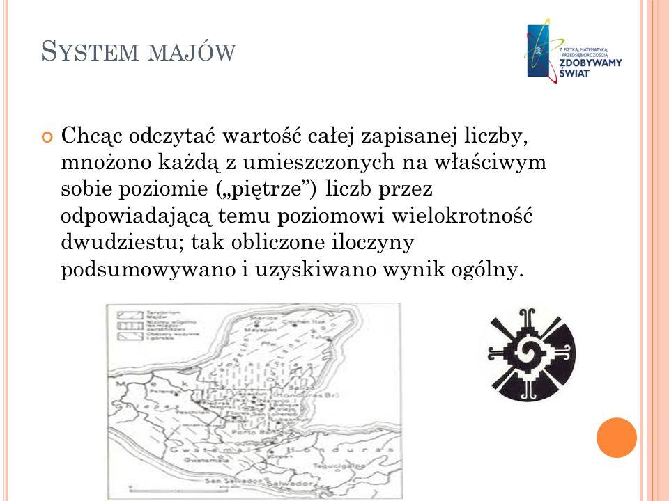 System majów