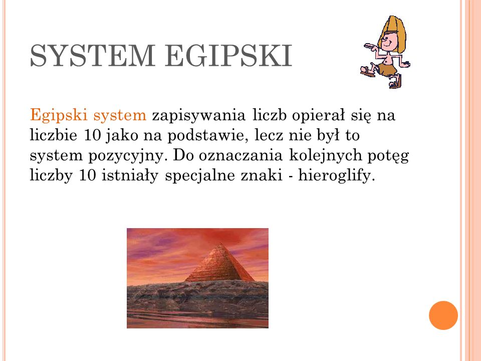 SYSTEM EGIPSKI