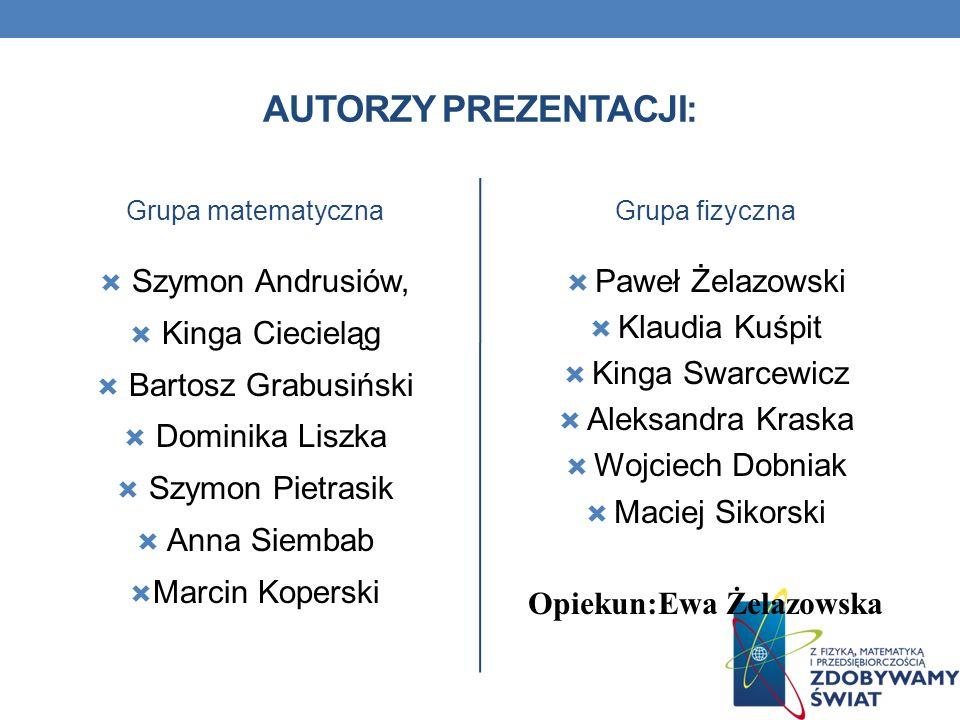Opiekun:Ewa Żelazowska