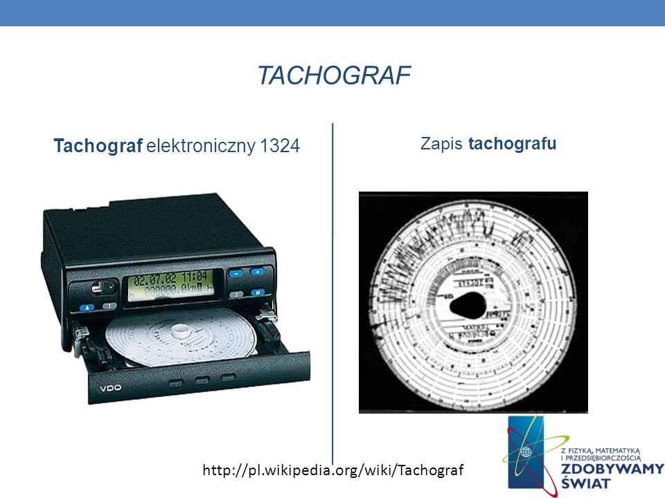 Tachograf elektroniczny 1324