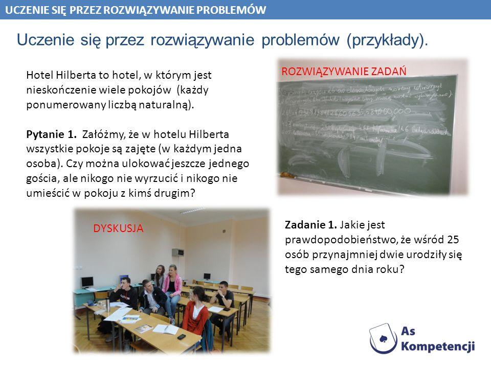 Uczenie się przez rozwiązywanie problemów (przykłady).