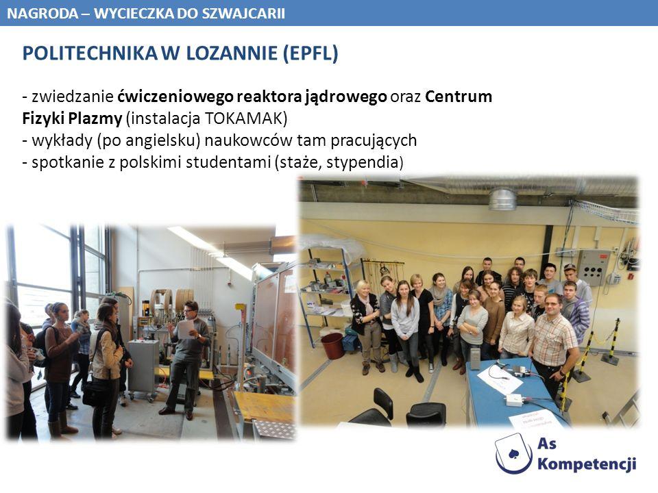 POLITECHNIKA W LOZANNIE (EPFL)