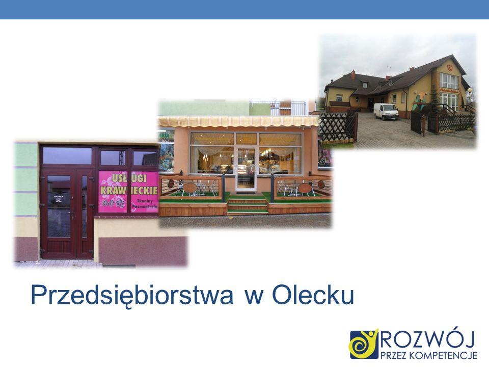 Przedsiębiorstwa w Olecku