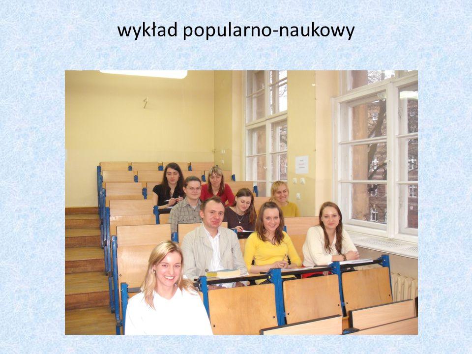 wykład popularno-naukowy