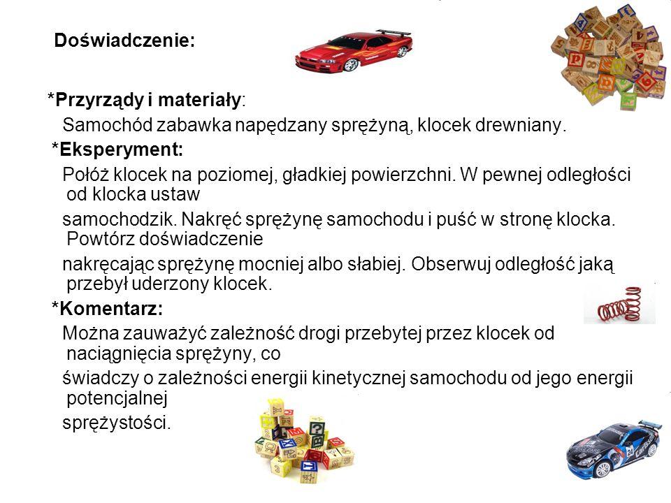 *Przyrządy i materiały: