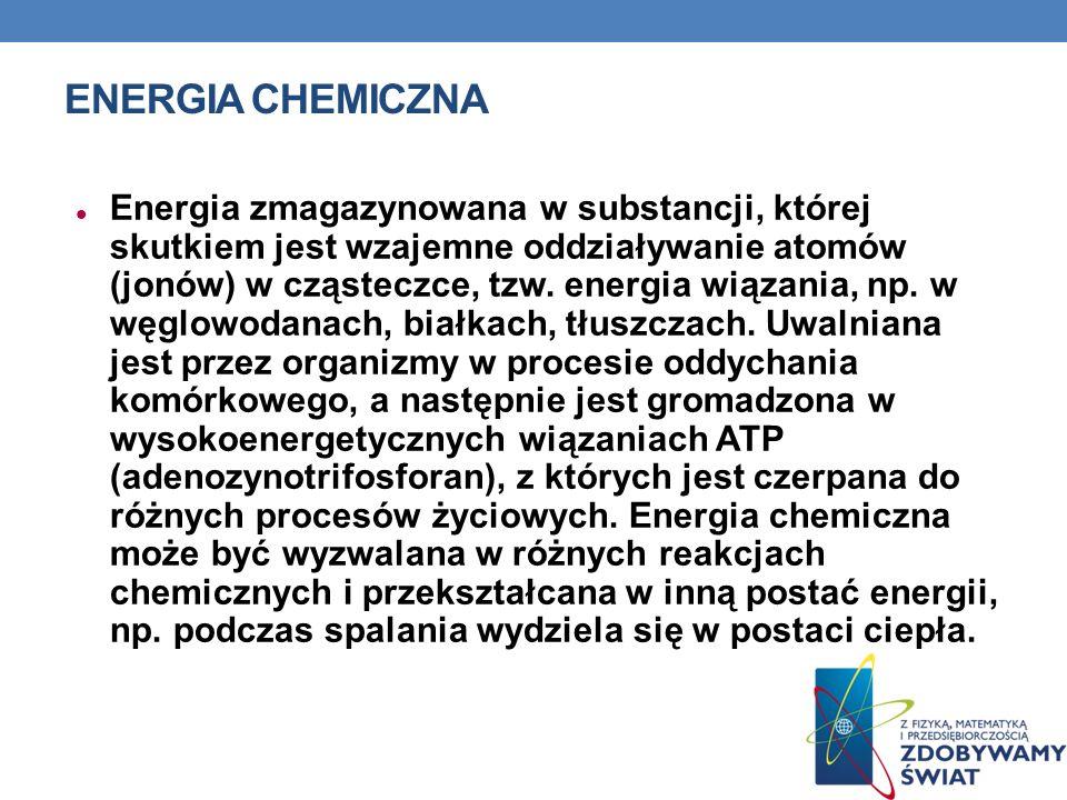 Energia chemiczna