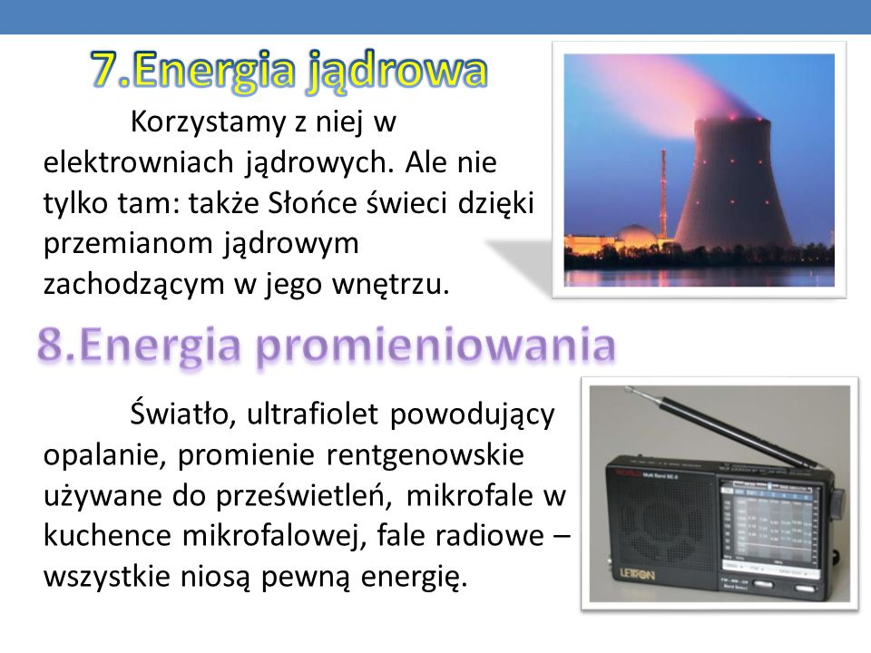 8.Energia promieniowania