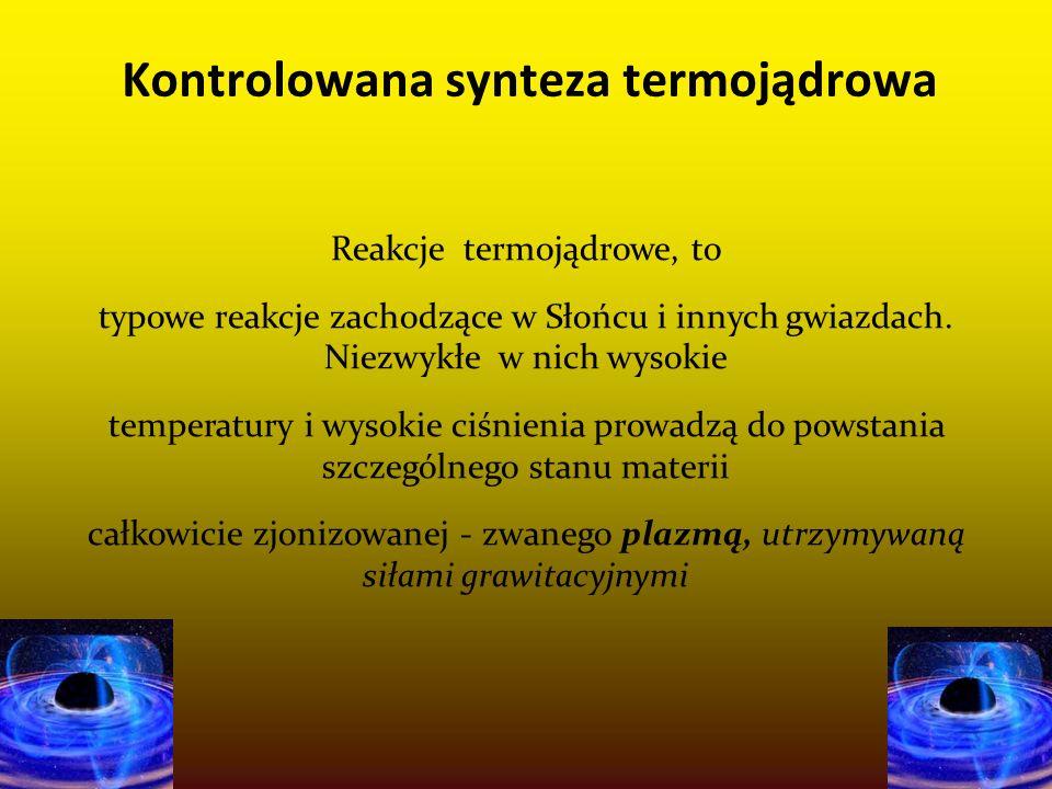 Kontrolowana synteza termojądrowa