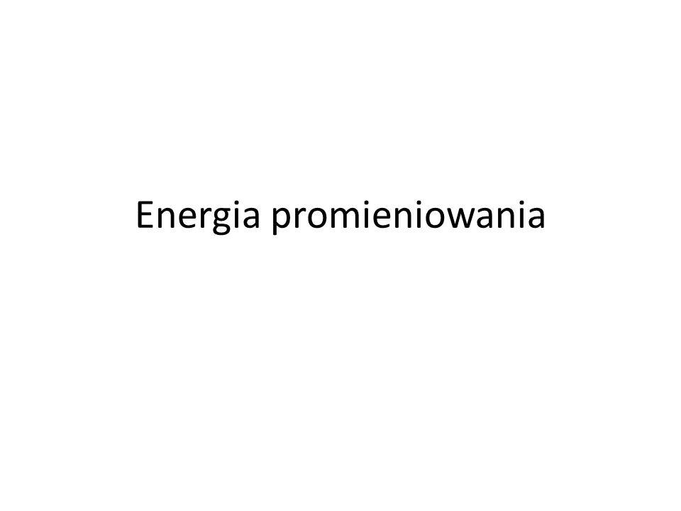 Energia promieniowania