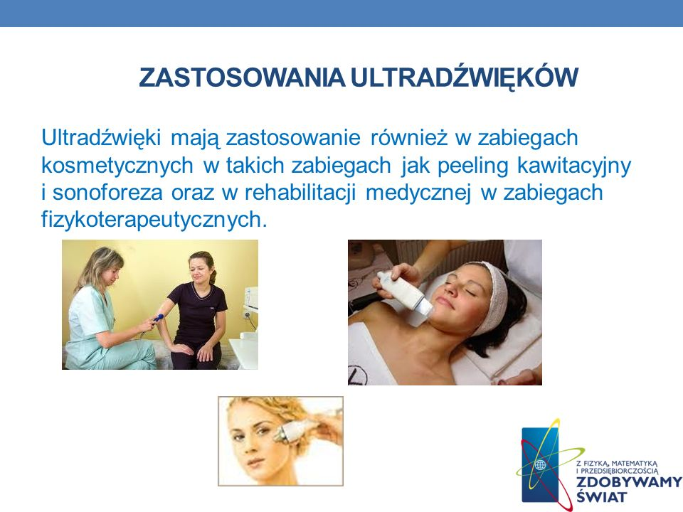 Zastosowania ultradźwięków