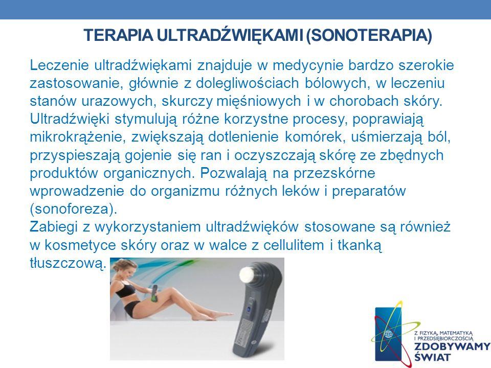Terapia ultradźwiękami (sonoterapia)