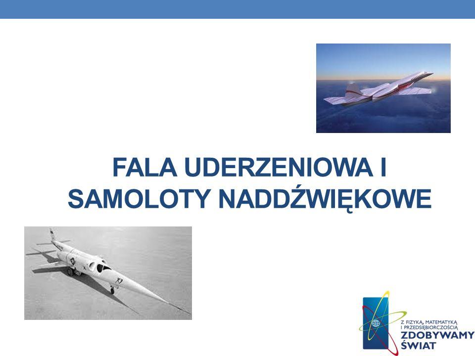 Fala uderzeniowa i samoloty naddźwiękowe