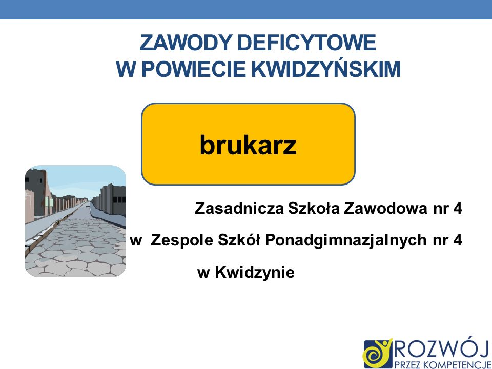 Zawody deficytowe w powiecie kwidzyńskim