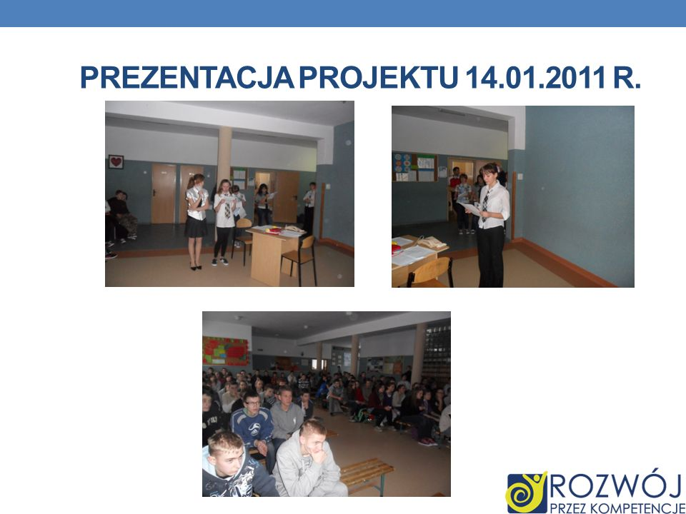 Prezentacja projektu 14.01.2011 r.