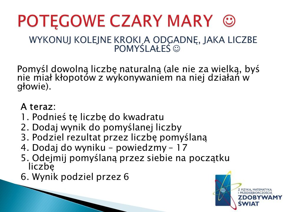 POTĘGOWE CZARY MARY 