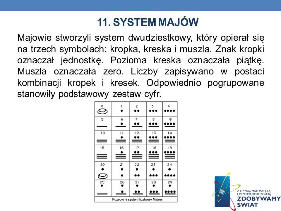 11. System majów